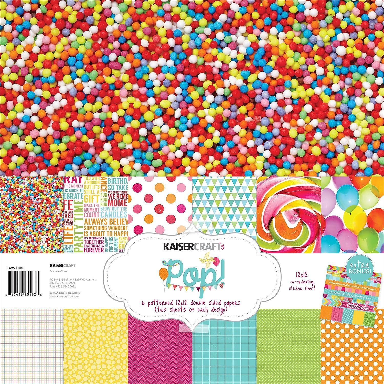 Kaiser Craft Pop. Papier Pack B00OJNFNG0  | eine breite Palette von Produkten