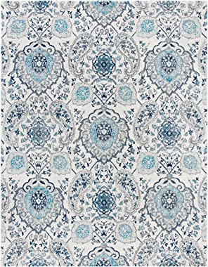 SAFAVIEH Madison Collection MAD600C Boho Chic Glam Paisley Non-Shedding Living Room Bedroom Dining Home Office Area Rug, 8&#3