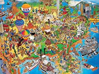 Ceaco Perfect Piece Count Puzzle - Jan Van Haasteren - USA