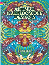 Animal Kaleidoscope Designs Coloring Book (Dover Coloring Books)