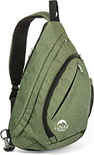 one strap canvas backpack