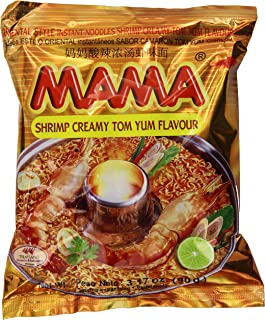 Best Mama Instant Noodle, Creamy Tom Yum Spicy Flavor, 3.17 Ounce (Pack of 20) Review
