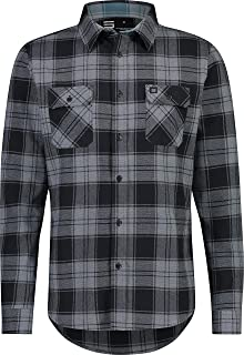 Three Sixty Six Flannel Shirt for Men - Mens Fitted Dry Fit Flannel Work Shirts