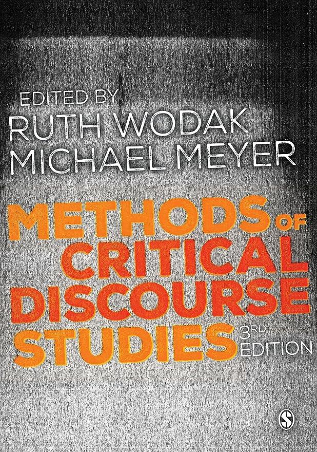 起きて少なくともおばあさんMethods of Critical Discourse Studies (Introducing Qualitative Methods series) (English Edition)