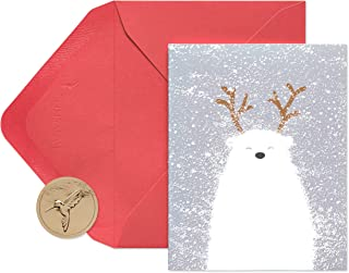 Papyrus Holiday Cards Boxed, Polar Bear (20-Count)