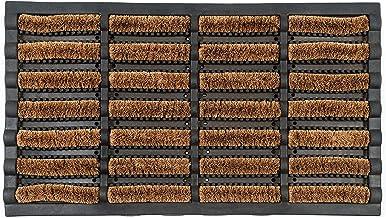 Maine Furniture Co OCCO Karlstad 40cm x 70cm Outdoor Heavy Duty Coir Rubber Backed Non Slip Mud Doormat I Outside Door Mat...