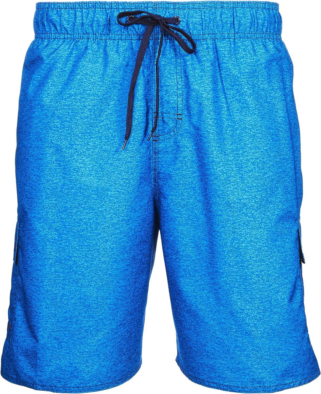 LAGUNA Mens Locked in Boardshort Swim Trunks Bathing Suit, UPF 50+