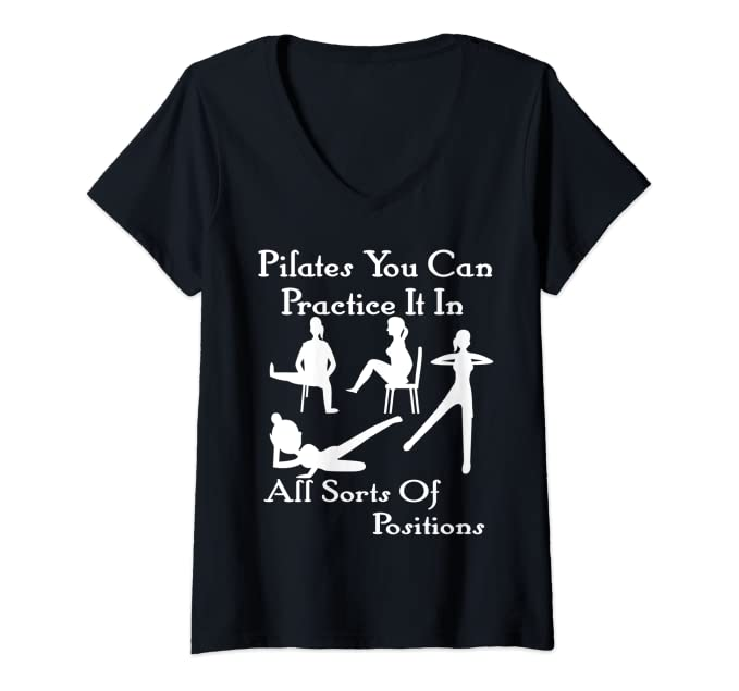 Fun Inclusive Pilates V-Neck T-Shirt