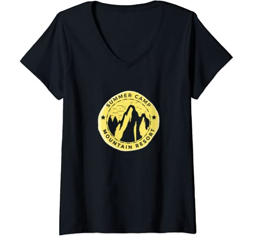 Womens Summer Camp 2020 Summer Camp 2020 Near Me Camp Gift V Neck T Shirt