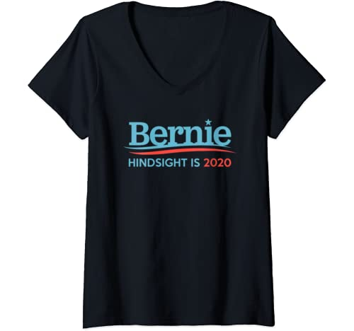 Womens Vintage Bernie Sanders Election Tshirt For President 2020 V Neck T Shirt