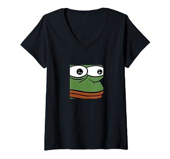 Amazon.com: Womens monkaW Pepe - Gaming Stream Chat Meme V ...