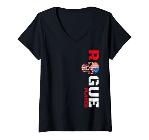 Womens Rogue Life Slogan T Shirt For Men Women Kids, Cool Rebel Tee V Neck T Shirt