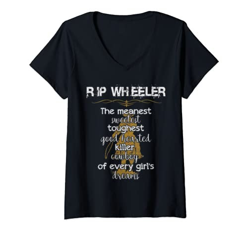 Womens Rip Wheeler Shirt, Women Or Men's V Neck T Shirt