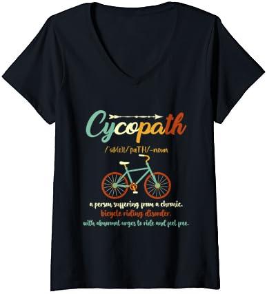 Femme Humour cycliste cycliste…