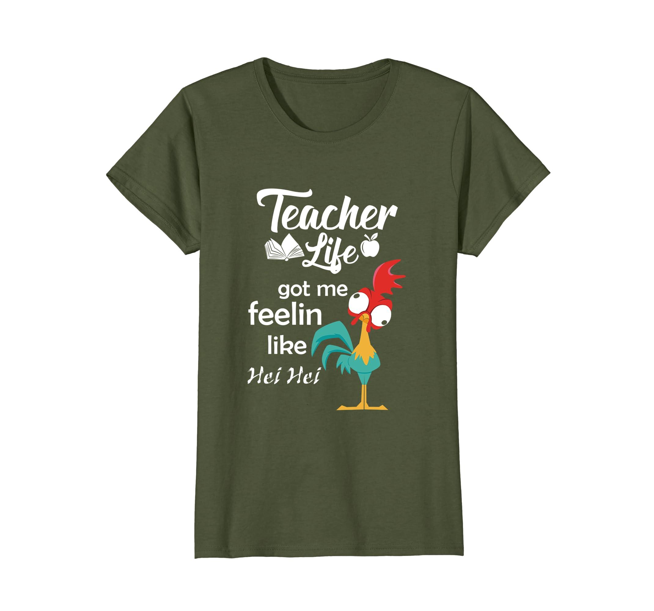 Teacher Life Got Me Feelin Like Hei T-shirt Teacher Gifts-Awarplus
