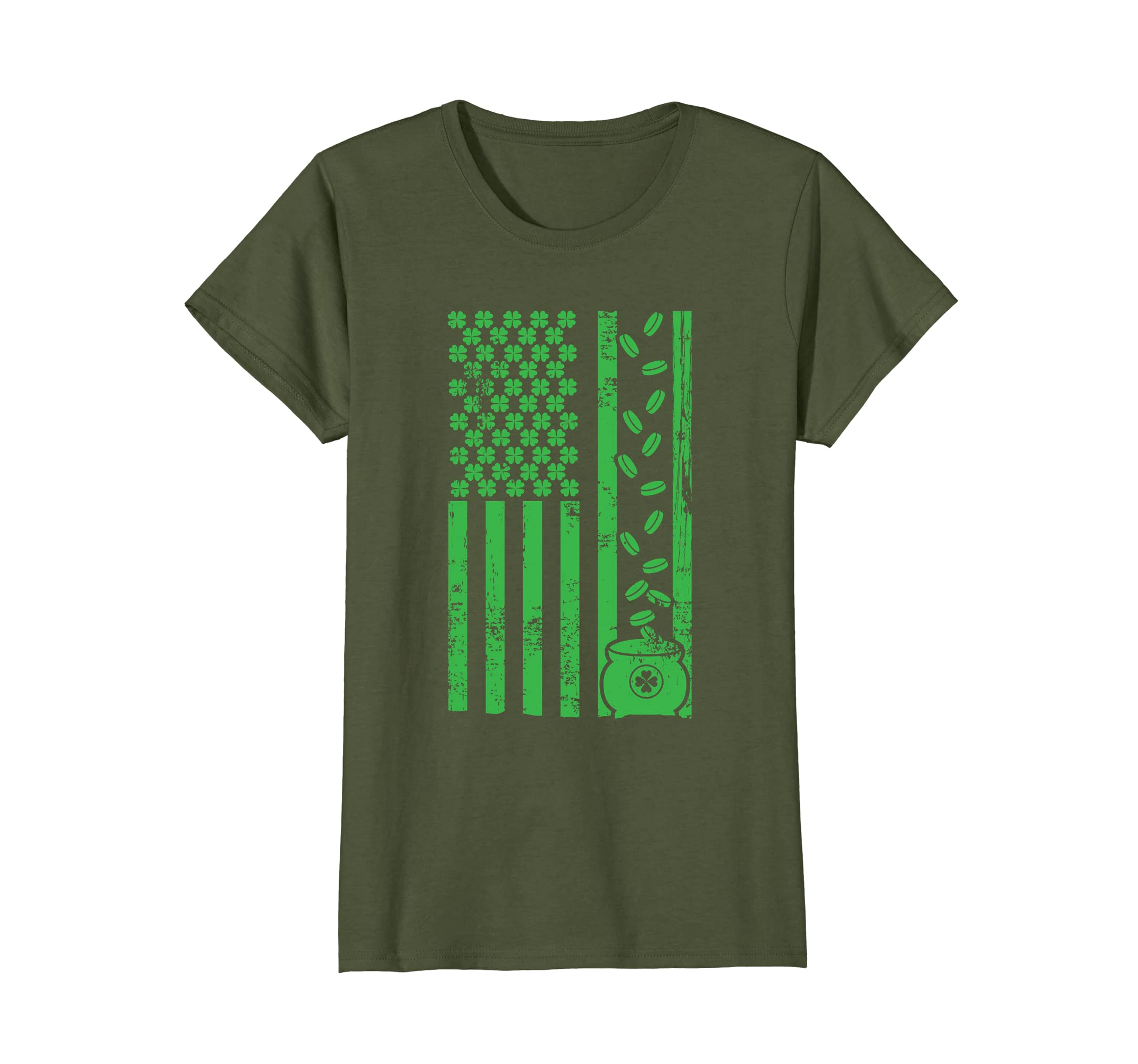 Saint Patricks Day Flag Shirt