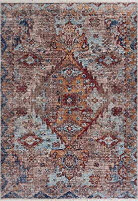 Amazon Com Momeni Rugs Desert Gabbeh Collection 100 Wool Hand Knotted Contemporary Area Rug 2 X 3 Paprika Furniture Decor