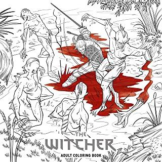 CD Projekt Red: The Witcher Adult Coloring Book