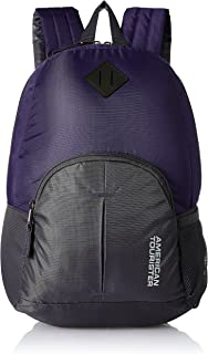 American Tourister 20 Ltrs Purple Small Casual Backpack (AMT HOOP BACKPACK-PURPLE)