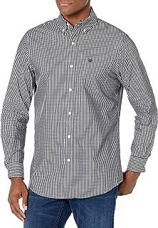CHAPS Mens Plaid Ec Stretch-Long Sleeve-Sport Shirt