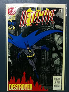 DETECTIVE COMICS ft: BATMAN & ROBIN #641 The Destroyer Part 3 Feb 92 Near-Mint to Mint (8 out of 10) Very Lightly Used by Mickeys Pubs