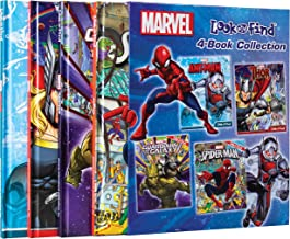 Marvel - Spider-man, Guardians of the Galaxy, Thor, and Ant-man 4-Book Look and Find Collection with Slipcase - Characters...