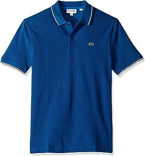 ac72321d Lacoste Plain Slim Fit Polo T-Shirt for Men - apx Blue Royal/Dark