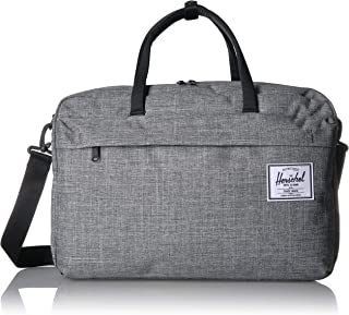 Herschel Bowen Unisex Duffle Bag, Raven Crosshatch