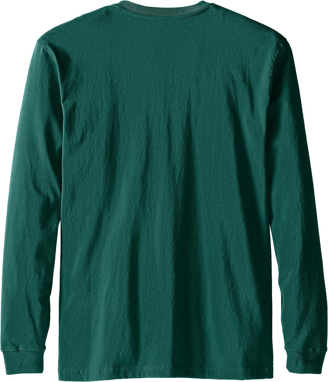 Carhartt Men's Workwear Pocket Henley Shirt (Regular and Big & Tall Sizes): Clothing