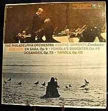 Sibelius: En Saga, Op. 9; Pohjola's Daughter, Op. 49; Oceanides, Op. 73; Tapiola, Op. 112
