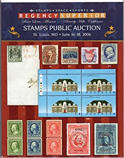 Stamps public auction, and sports public austion, st. Louis, MO, June 16-18, 2006
