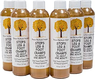 Caleb Treeze Old Amish Formula- Stops Leg and Foot Cramps Fast- Works for All Cramps-Prevent and Stop Cramps (6 Pack) (6 I...