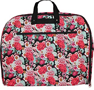 World Traveler World Traveler 40-inch Hanging Garment Bag - Flowers, Flowers (Multi) - 81GM40-193
