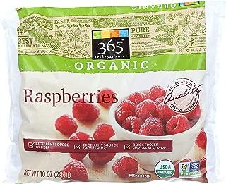 365 Everyday Value, Organic Raspberries, 10 oz, (Frozen)