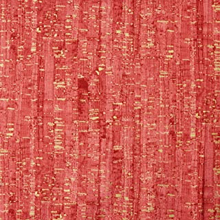 Windham Fabrics Uncorked Lipstick Metallic Gold Fabric By The Yard