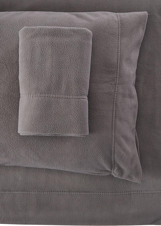Peak Performance SHET20-591 Fleece Sheet Set, Grey