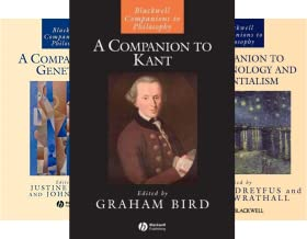 Blackwell Companions to Philosophy (31 Book Series)
