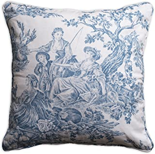 Toile De Jouy Bedding Grey