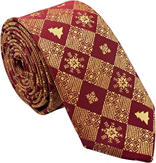 Holiday Christmas Ties for Men - Cool Mens Neckties - Many Colors to Choose From