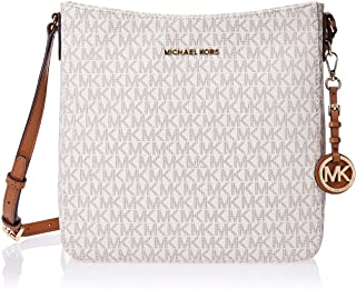 Michael Kors Women's Jet Set Travel Large Logo Messenger Bag
