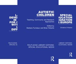 Routledge Library Editions: Special Educational Needs (50 Book Series)