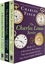 The Charles Lenox Series, Books 1-3: A Beautiful Blue Death, The September Society, The Fleet Street Murders (Charles Leno...