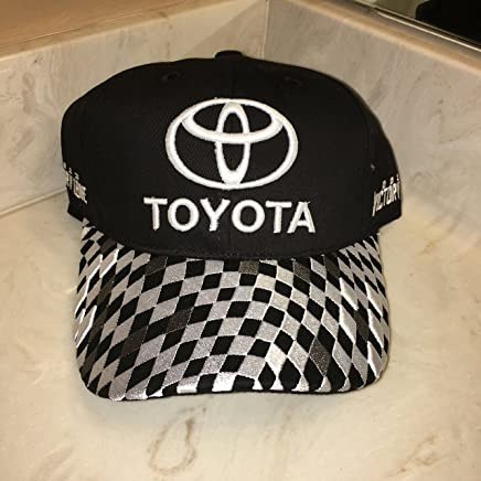 82658bb302f 2013 NASCAR TOYOTA RACING VICTORY LANE HAT CAP SEWN LOGO S Land Cruiser  Camry JOE GIBBS RACING