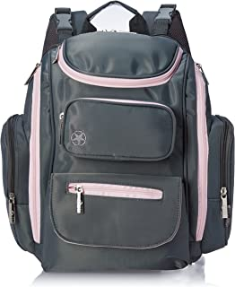 Jeep J is for Places and Spaces Back Pack Diaper Bag, Grey/Pink