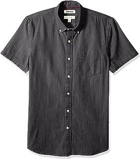 Amazon Brand - Goodthreads Men's Slim-Fit Short-Sleeve Denim Shirt