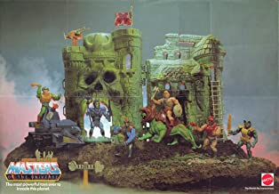 He-Man And The Masters Of The Universe Mattel Toys Display Poster 24x36 inches