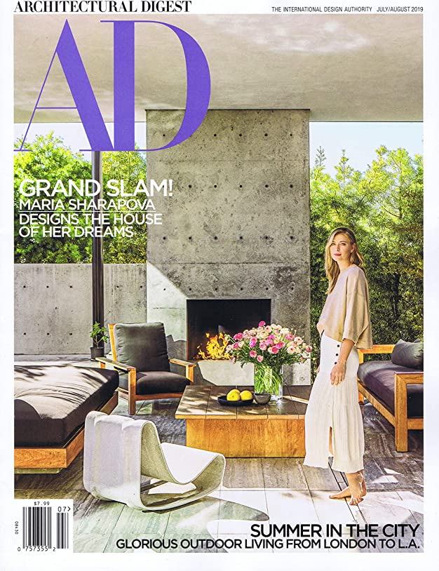 スクワイア要件飛ぶArchitectural Digest [US] July - August 2019 (単号)