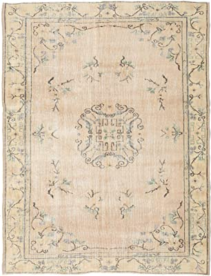 Antiques New Fashion Antique Turkish Oushak Carpet Bb5554