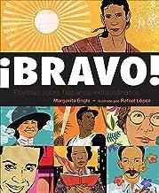 ¡Bravo! (Spanish language edition): Poemas sobre Hispanos Extraordinarios (Spanish Edition)