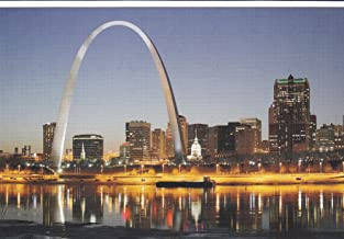 USNATMON20 - Gateway Arch - St. Louis, MO - A US National Monuments Postcard featuring America's most famous national monuments and man made landmarks .. .. from HibiscusExpress
